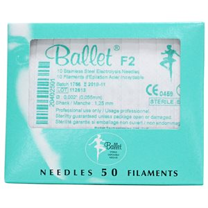 BALLET STAINLESS ST.F2 1P BX50